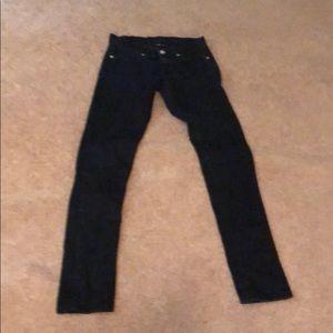 Blue LEVI Skinny 421 Jeans, size 1 Medium